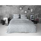 Sateen Duvet Set - Light grey