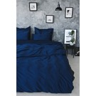 Sateen Duvet Set - Navy