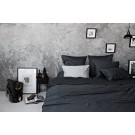 Sateen Duvet Set - Dark grey