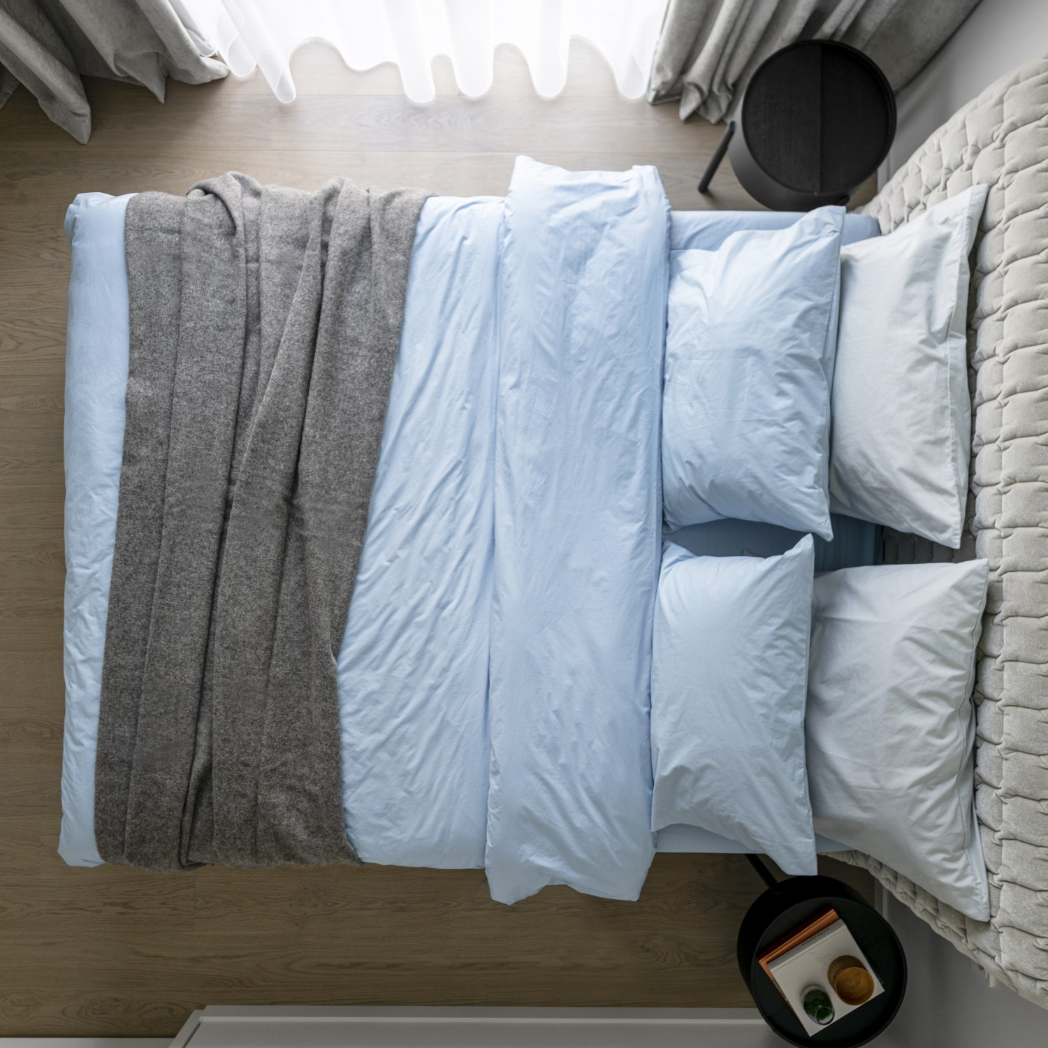 Percale Double Combo