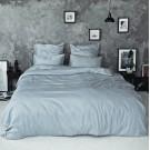 Sateen Duvet Set - Light grey