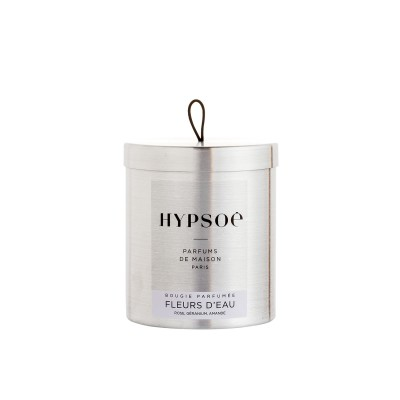 Hypsoe Scented Candle in Metal Tin - Fleurs D'eau