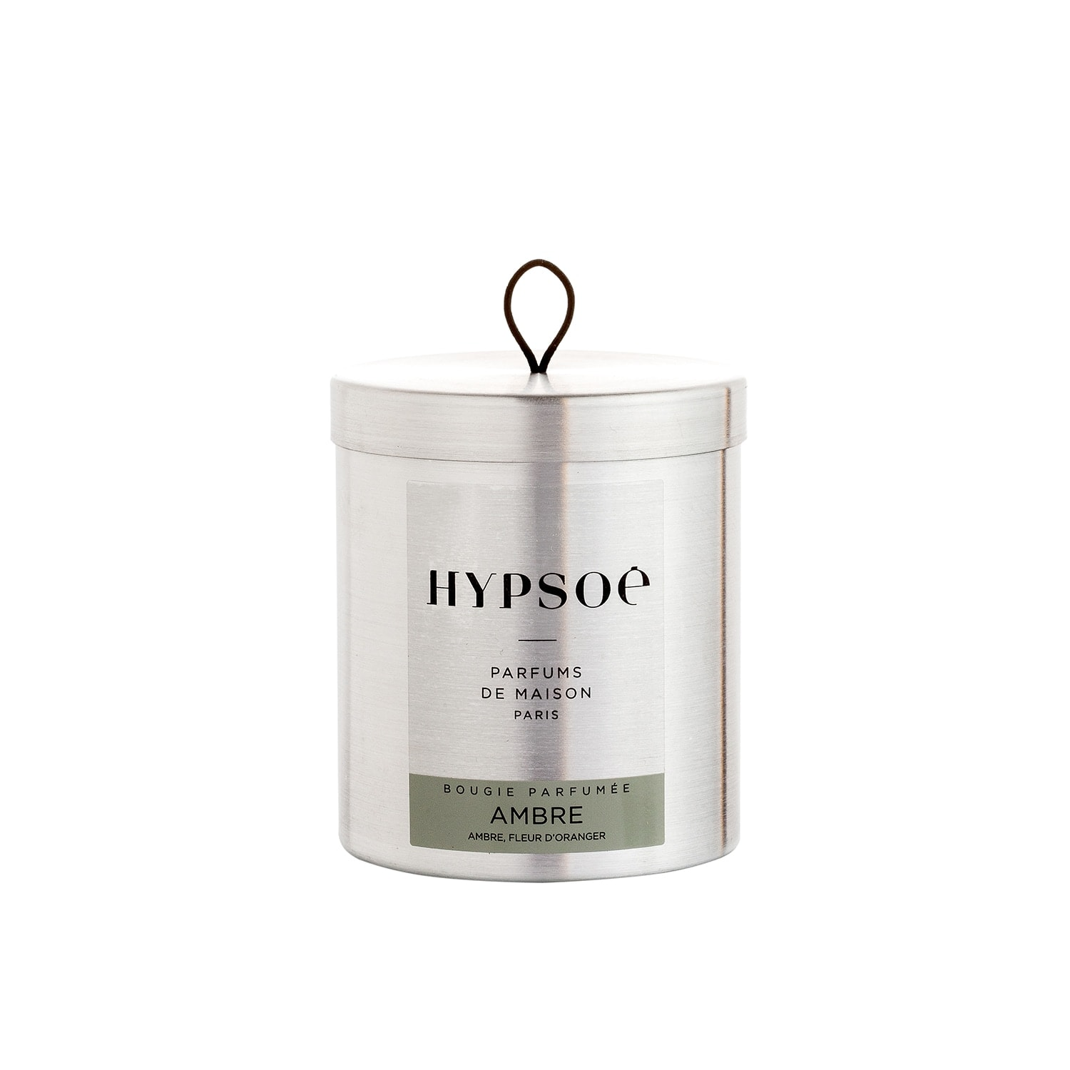 Hypsoe Scented Candle in Metal Tin - Ambre