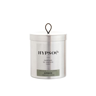 Hypsoe scented candle in metal tin