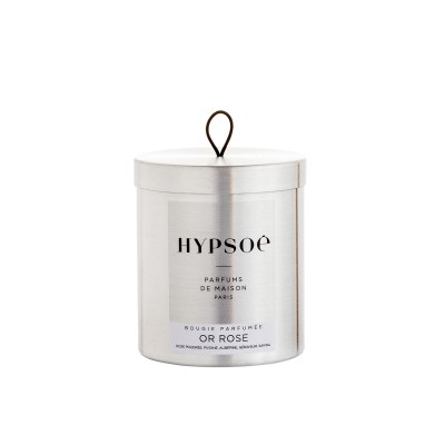 Hypsoe Scented Candle in Metal Tin - Or Rose