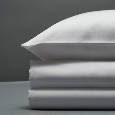Sateen Duvet Set - White