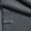 Alpaca Throw (Twill Weave) - Medium grey