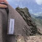 Baby alpaca wool blanket