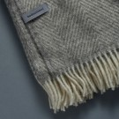 Gotland Wool Blanket - Light Grey