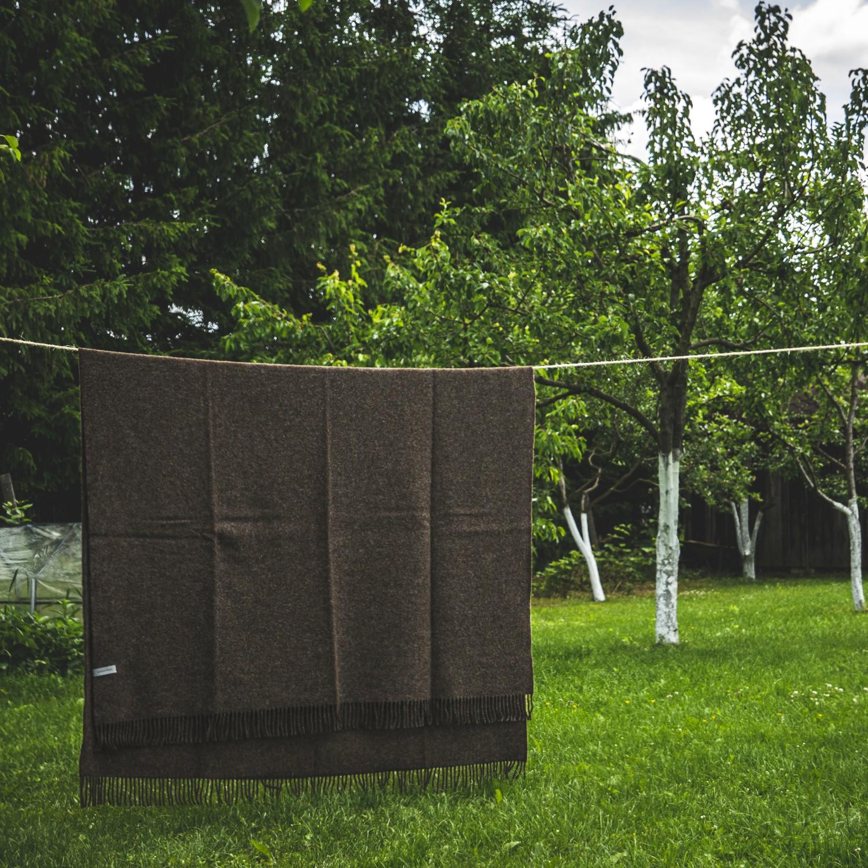 Gotland wool blanket