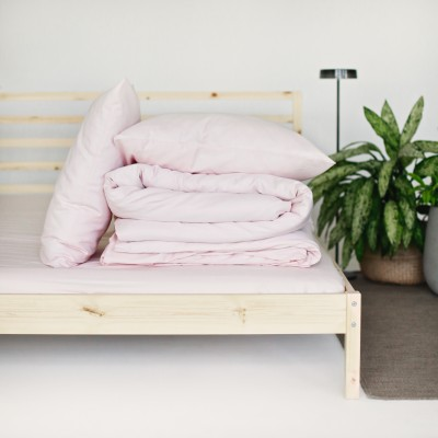 Percale Sheets - Light Pink